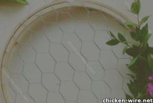 Wire flower basket