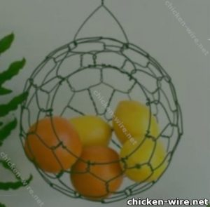 Fruit basket wire